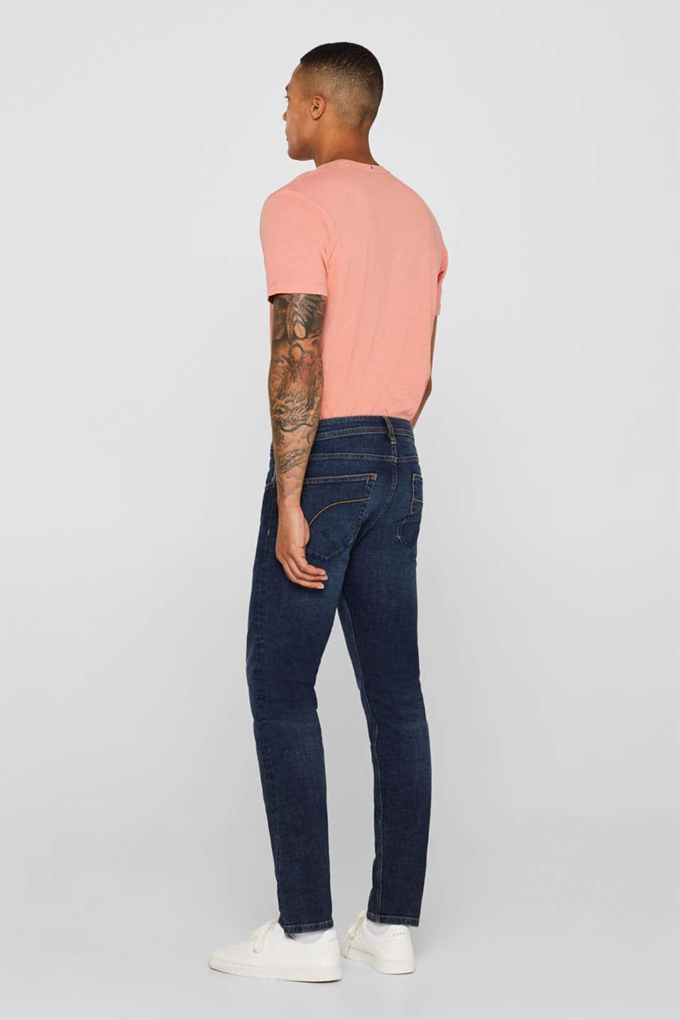 Pants denim Slim fit, BLUE DARK WASH, detail image number 1