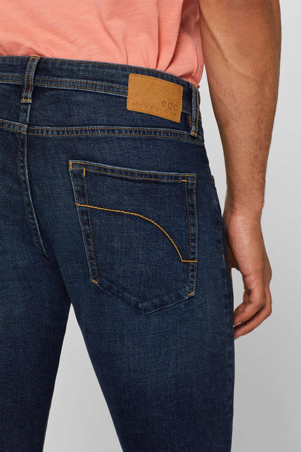 Pants denim Slim fit, BLUE DARK WASH, detail image number 3