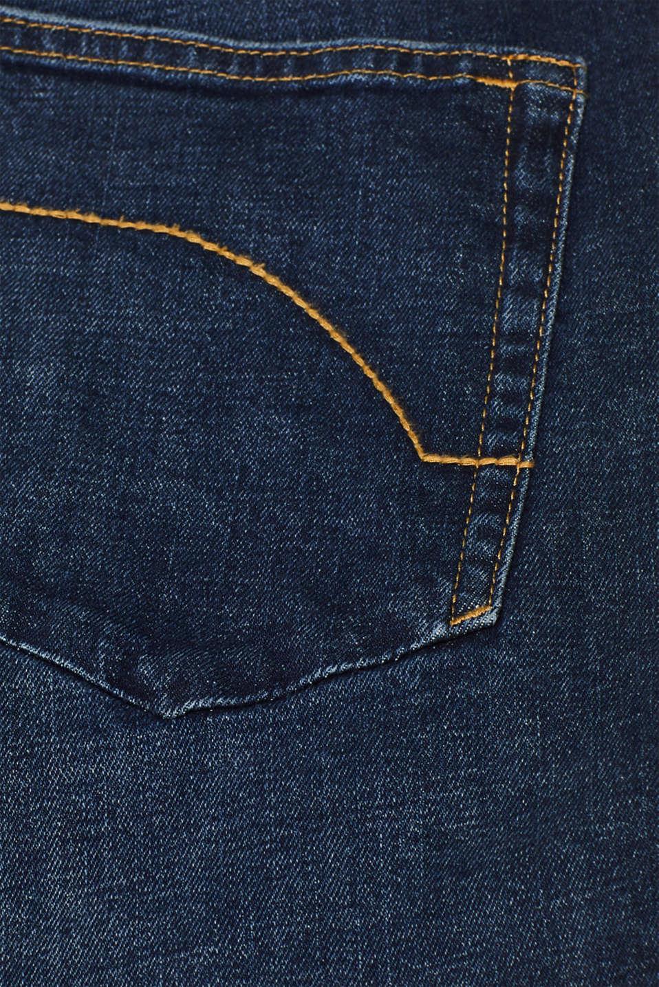 Pants denim Slim fit, BLUE DARK WASH, detail image number 4