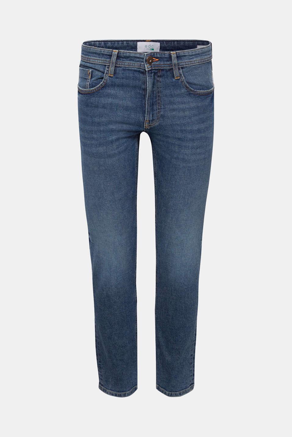 Pants denim Slim fit, BLUE MEDIUM WASH, detail image number 5