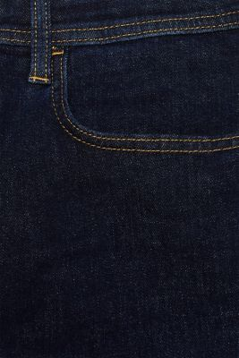 Stretch jeans containing organic cotton, BLUE RINSE, detail