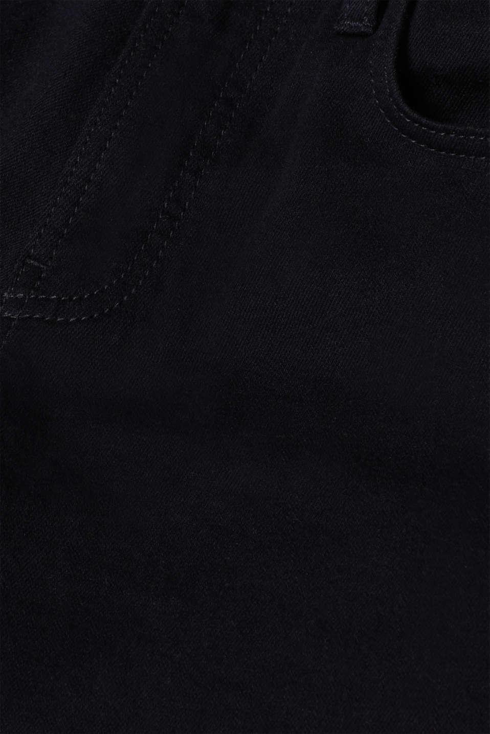 Pants denim, BLACK RINSE, detail image number 3