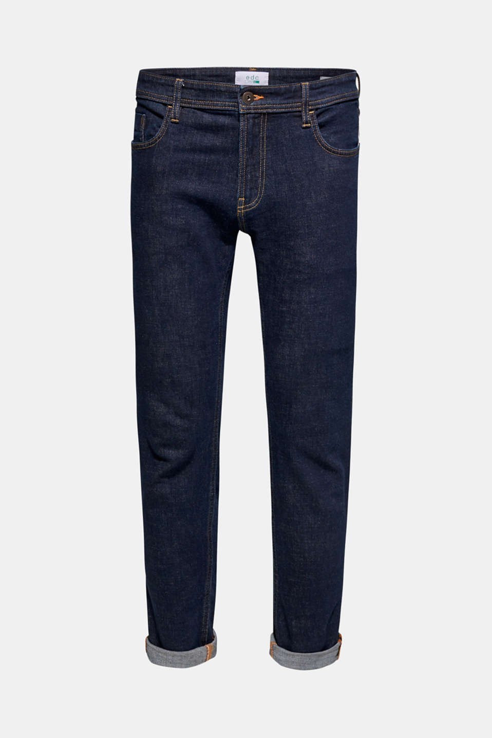 Pants denim, BLUE RINSE, detail image number 6