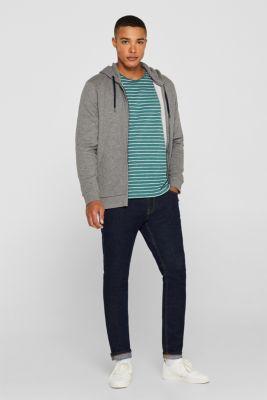 Skinny fit stretch jeans, BLUE DARK WASH, detail