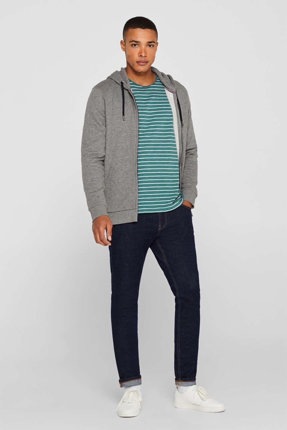 Skinny fit stretch jeans, BLUE DARK WASH, detail image number 2