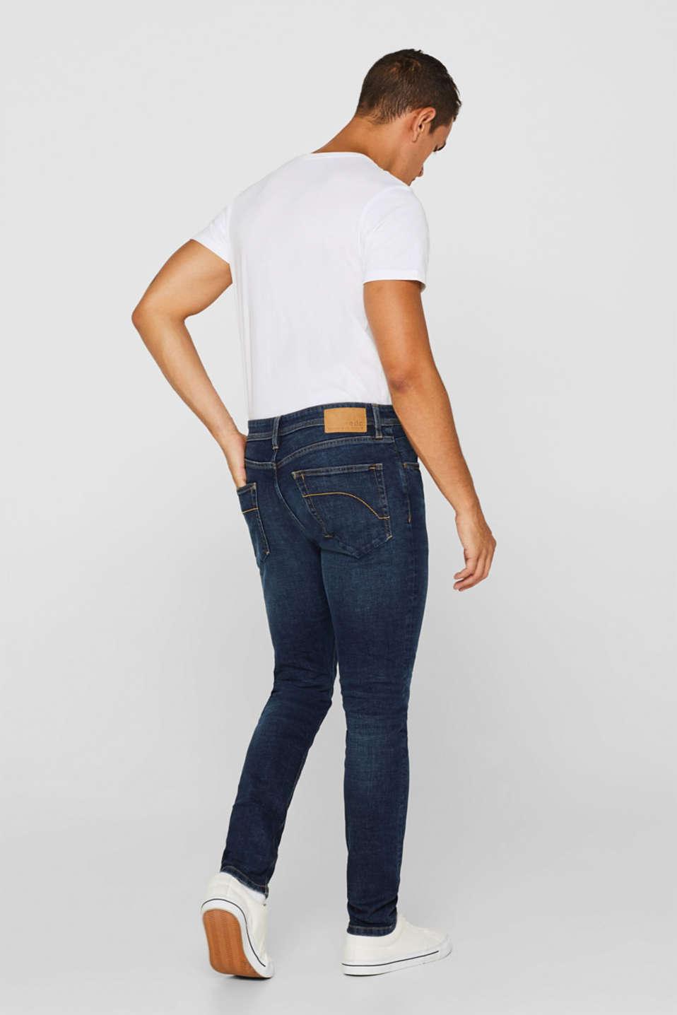 Skinny fit stretch jeans, BLUE MEDIUM WASH, detail image number 1
