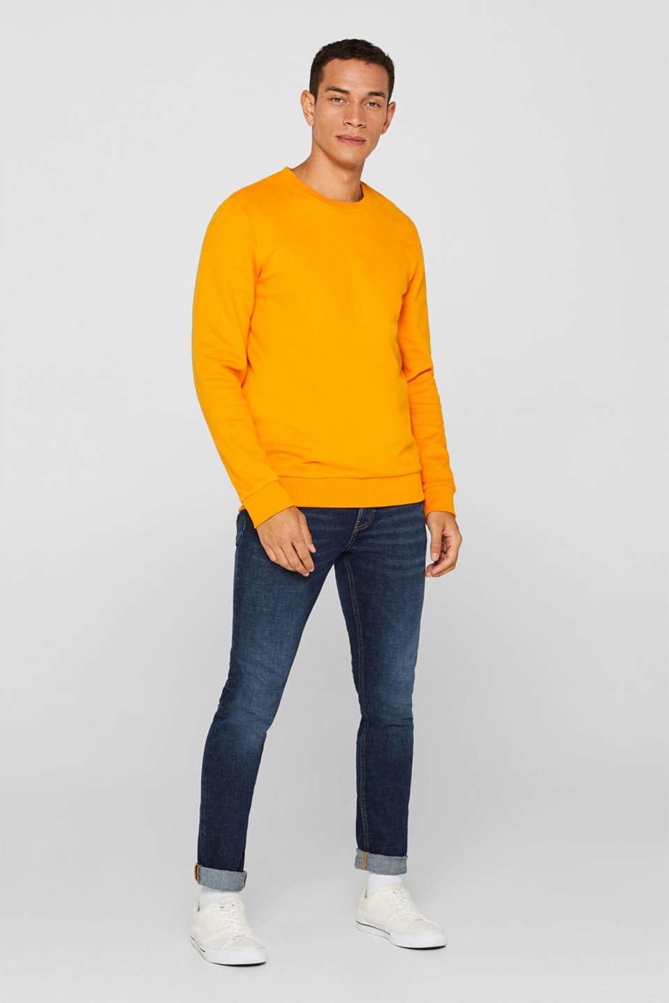Skinny fit stretch jeans, BLUE MEDIUM WASH, detail image number 2