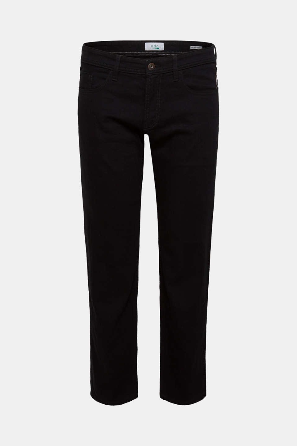 Skinny fit stretch jeans, BLACK RINSE, detail image number 6