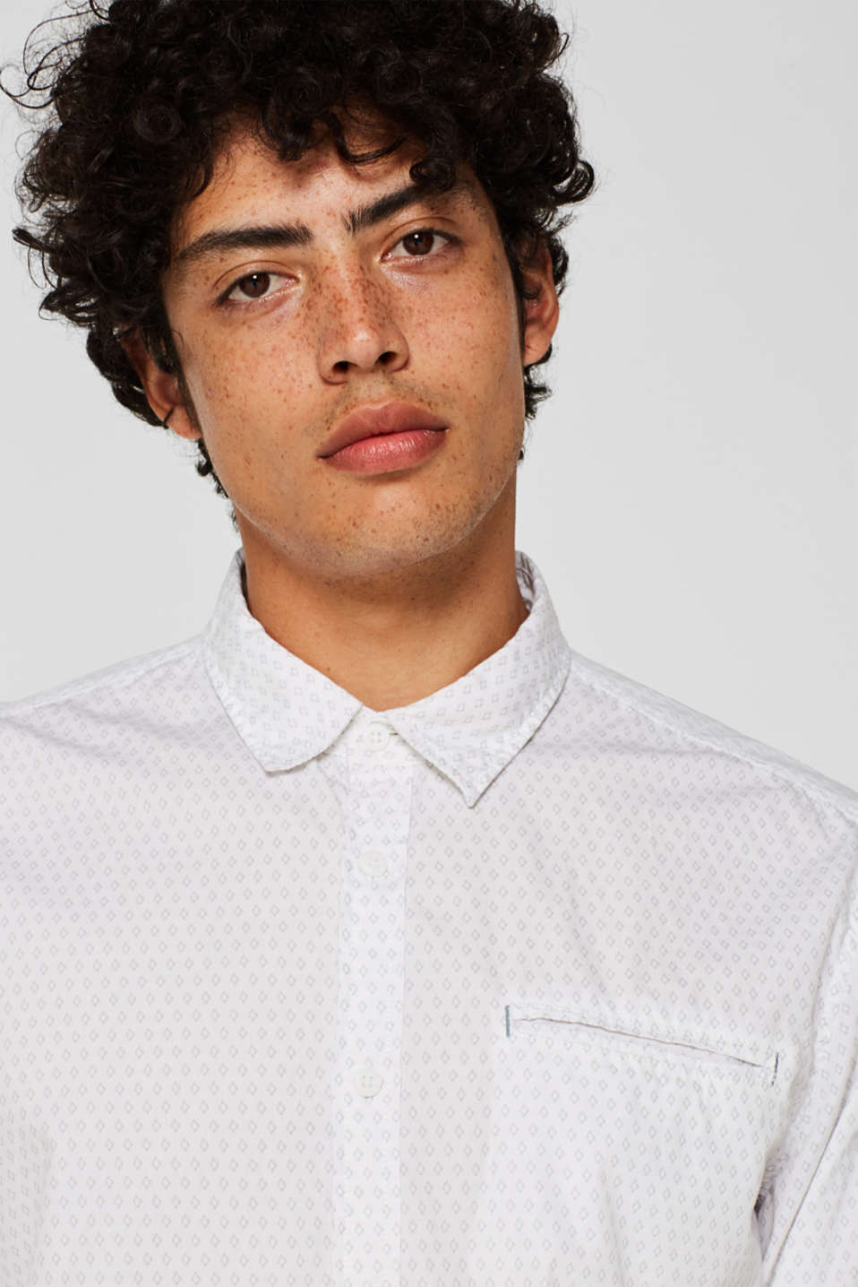 Shirts woven Slim fit, WHITE, detail image number 7
