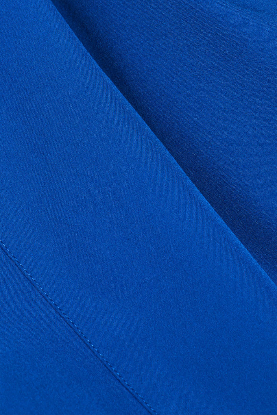 Coated weather jacket with a hood, BLUE, detail image number 4