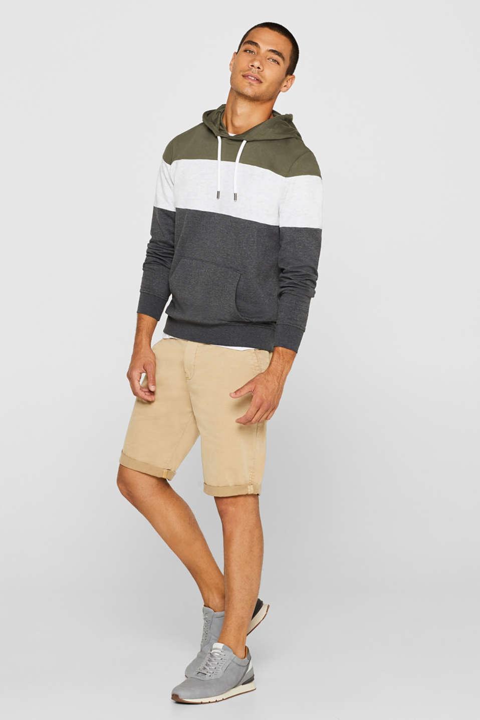 Sweatshirts, KHAKI GREEN, detail image number 1
