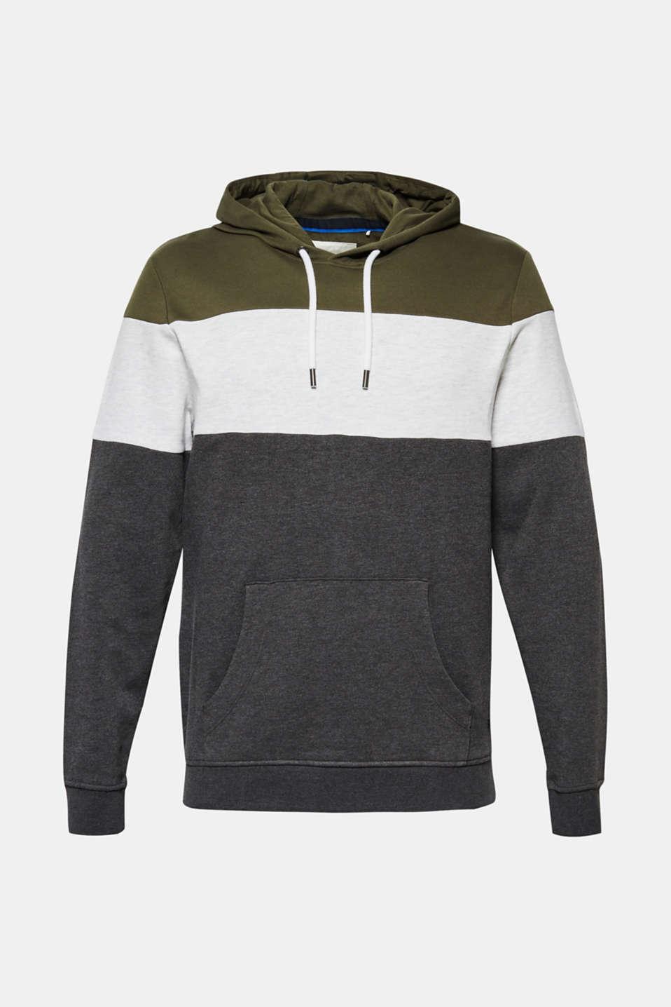 Sweatshirts, KHAKI GREEN, detail image number 7