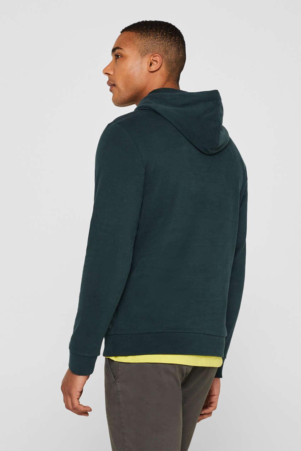Sweatshirts, BOTTLE GREEN, detail image number 3
