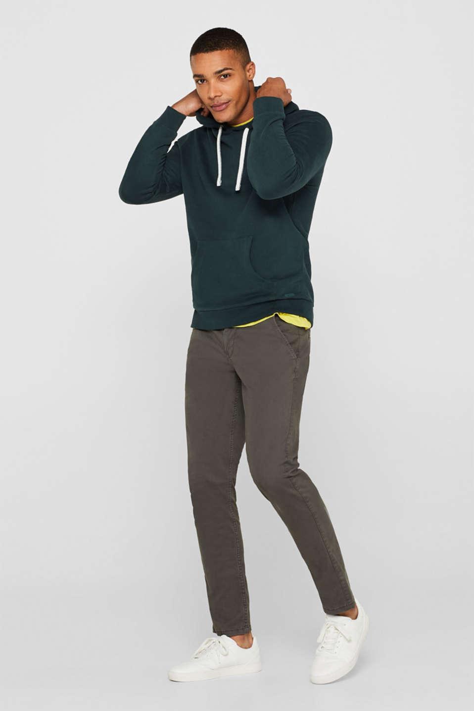Sweatshirts, BOTTLE GREEN, detail image number 1