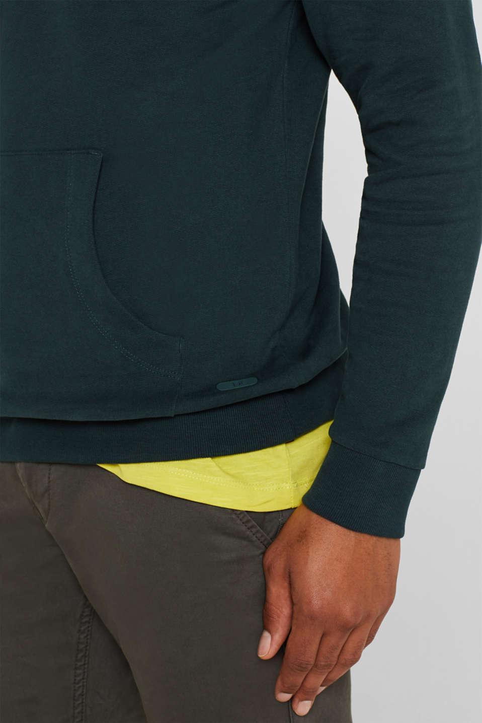 Sweatshirts, BOTTLE GREEN, detail image number 2