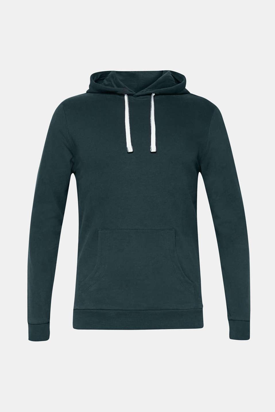 Sweatshirts, BOTTLE GREEN, detail image number 6