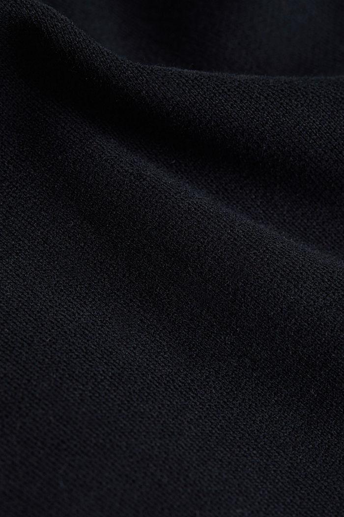 Sweatshirt i 100% bomull, BLACK, detail image number 3
