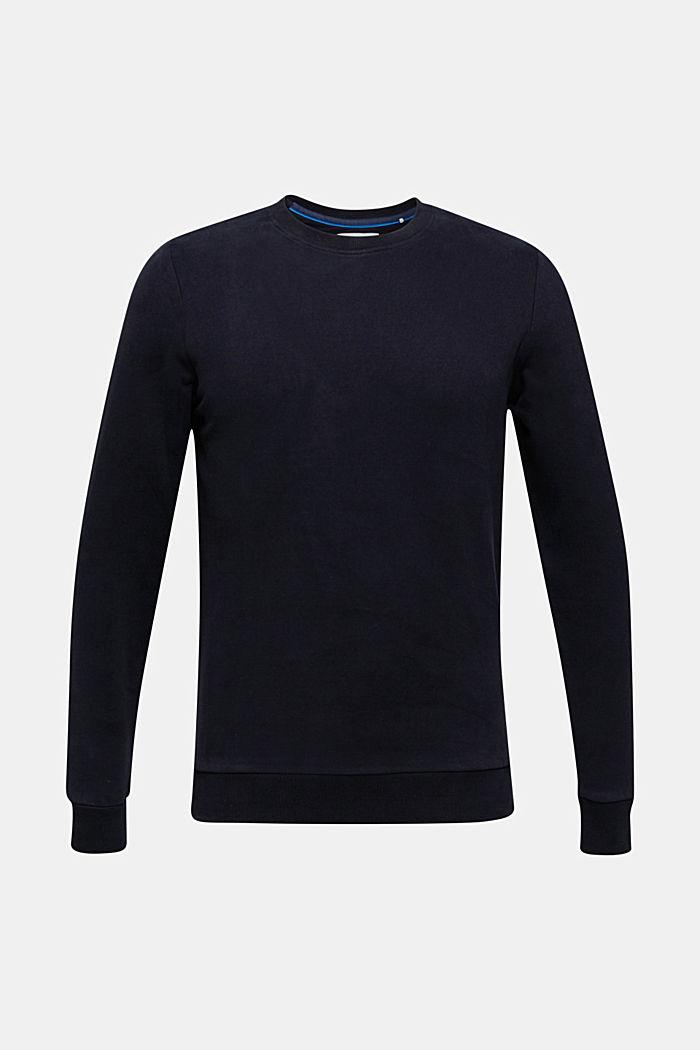 Sweatshirt i 100% bomull, BLACK, detail image number 5