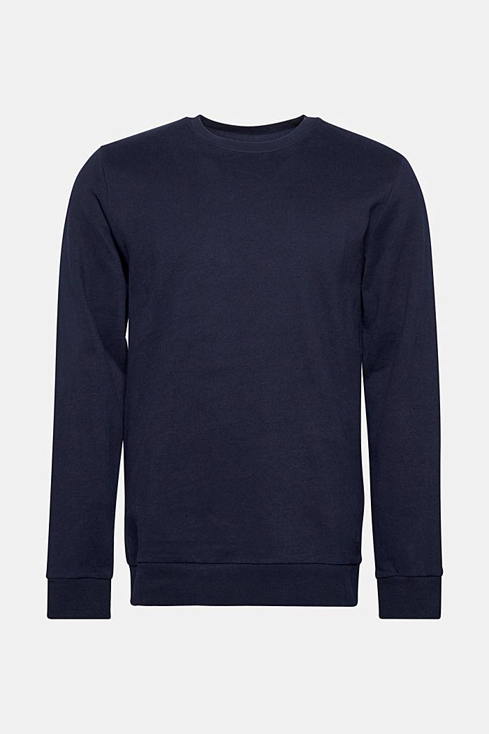 Sweatshirt van 100% katoen, NAVY, detail image number 0