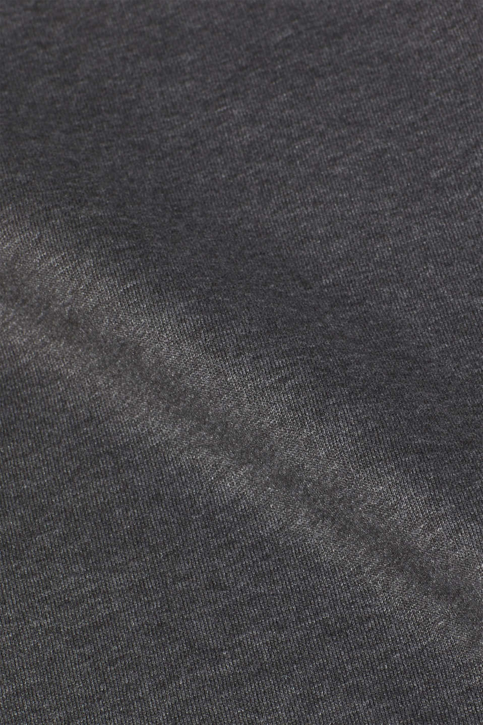 Blended cotton sweatshirt, DARK GREY, detail image number 3