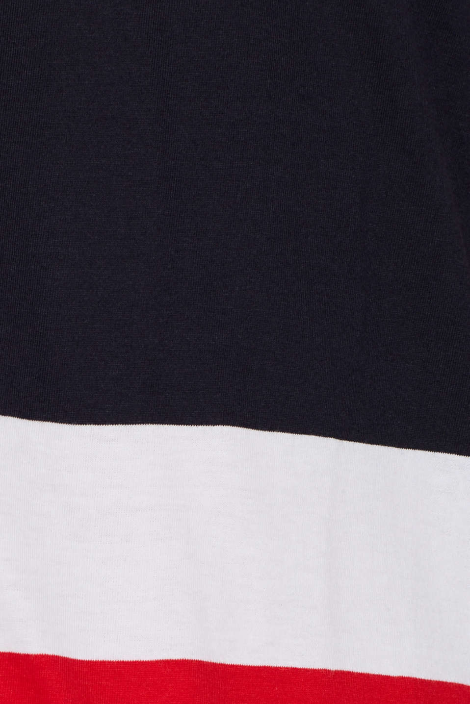 Striped T-shirt, 100% cotton, NAVY, detail image number 5