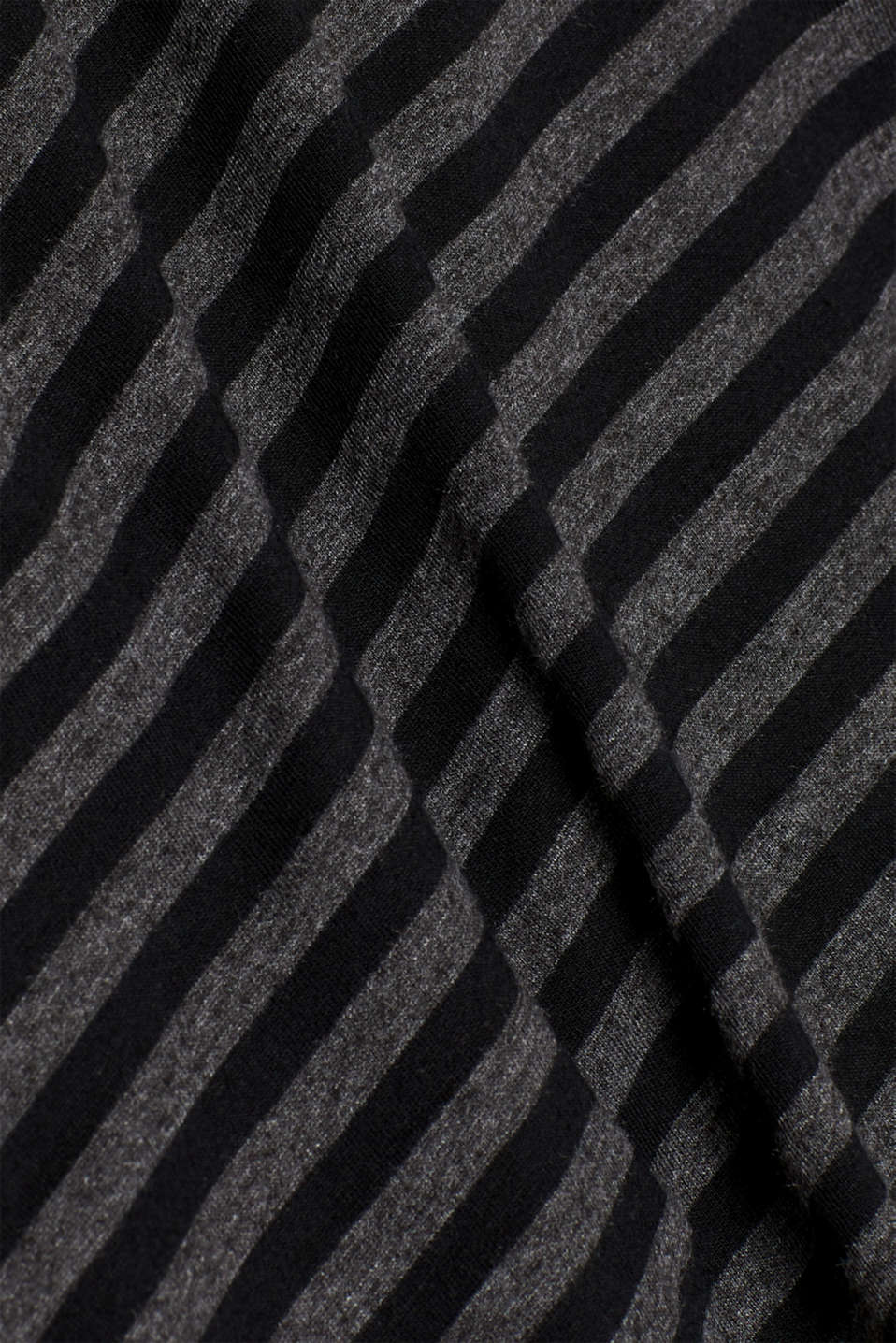 Striped jersey T-shirt, ANTHRACITE, detail image number 5