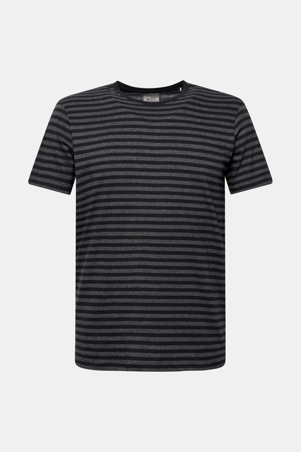 Striped jersey T-shirt, ANTHRACITE, detail image number 6