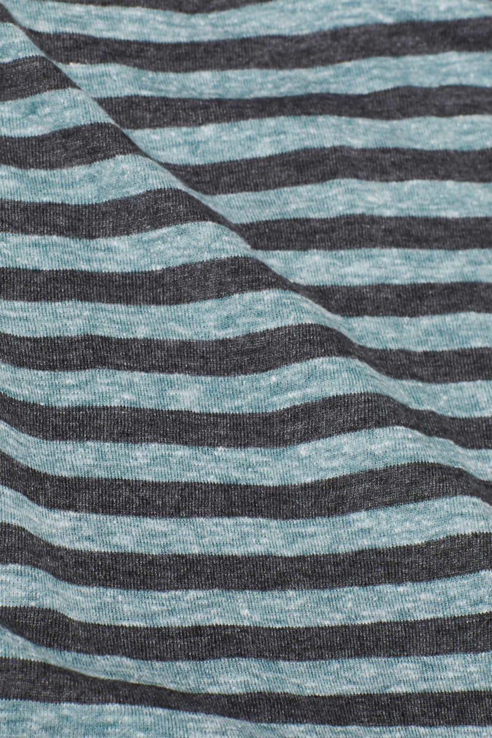 Striped jersey T-shirt, DUSTY GREEN, detail image number 1