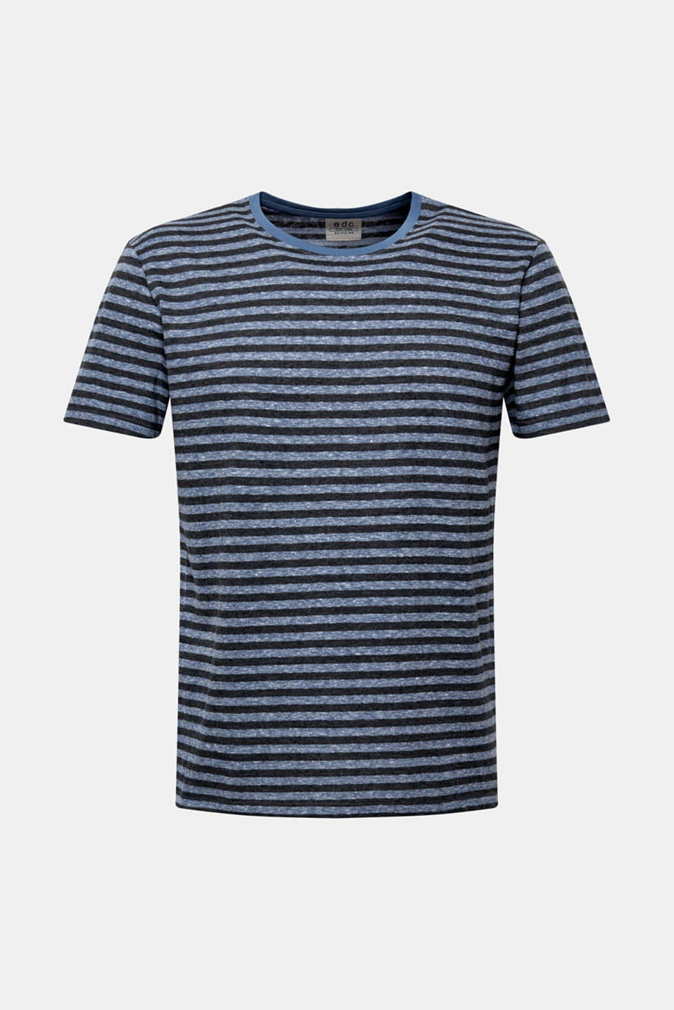 Striped jersey T-shirt, BLUE, detail image number 7