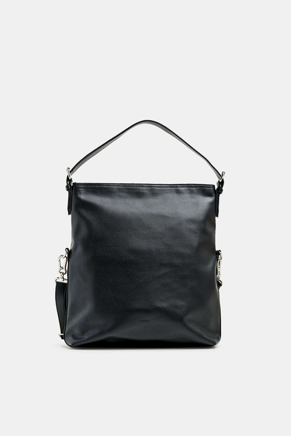 Esprit - Flap-over bag in vegan faux leather
