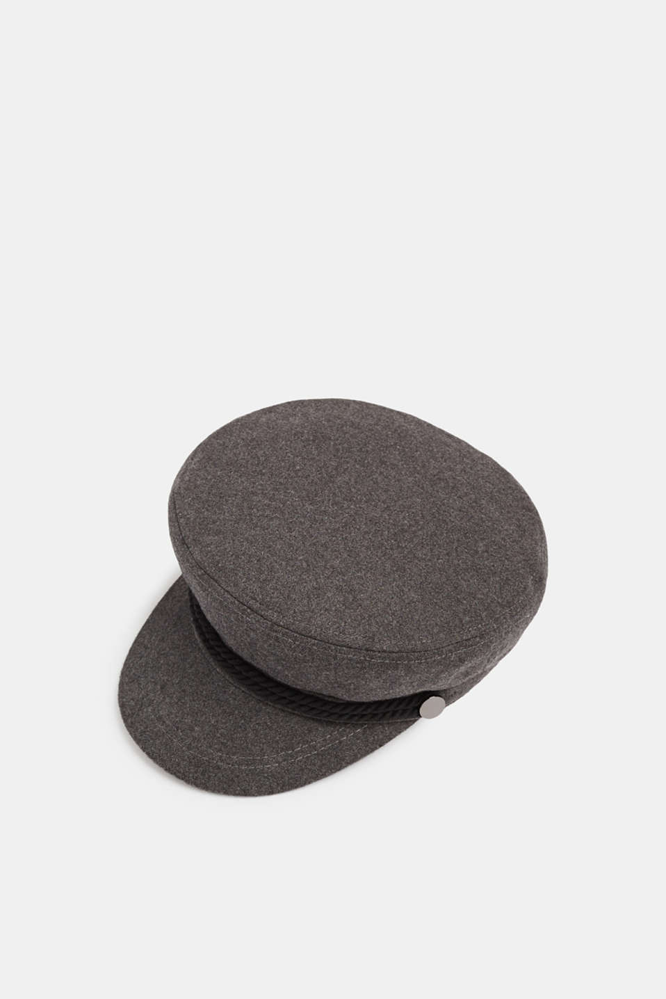 Esprit - Melange wool-effect sailor's cap