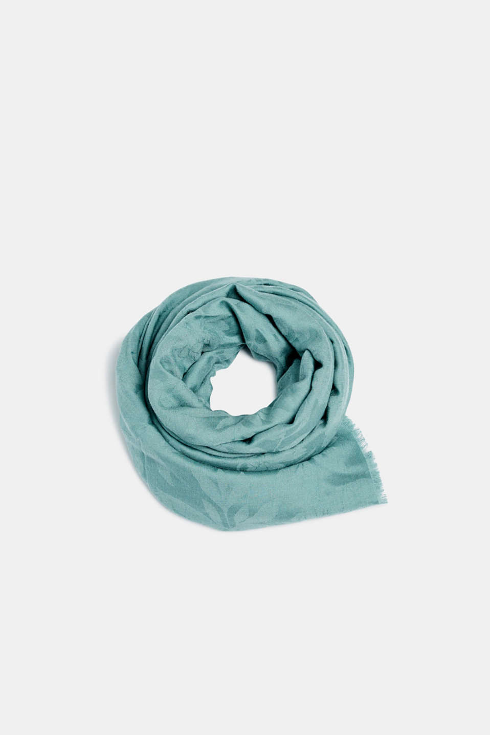 Shawls/Scarves, DUSTY GREEN, detail image number 0