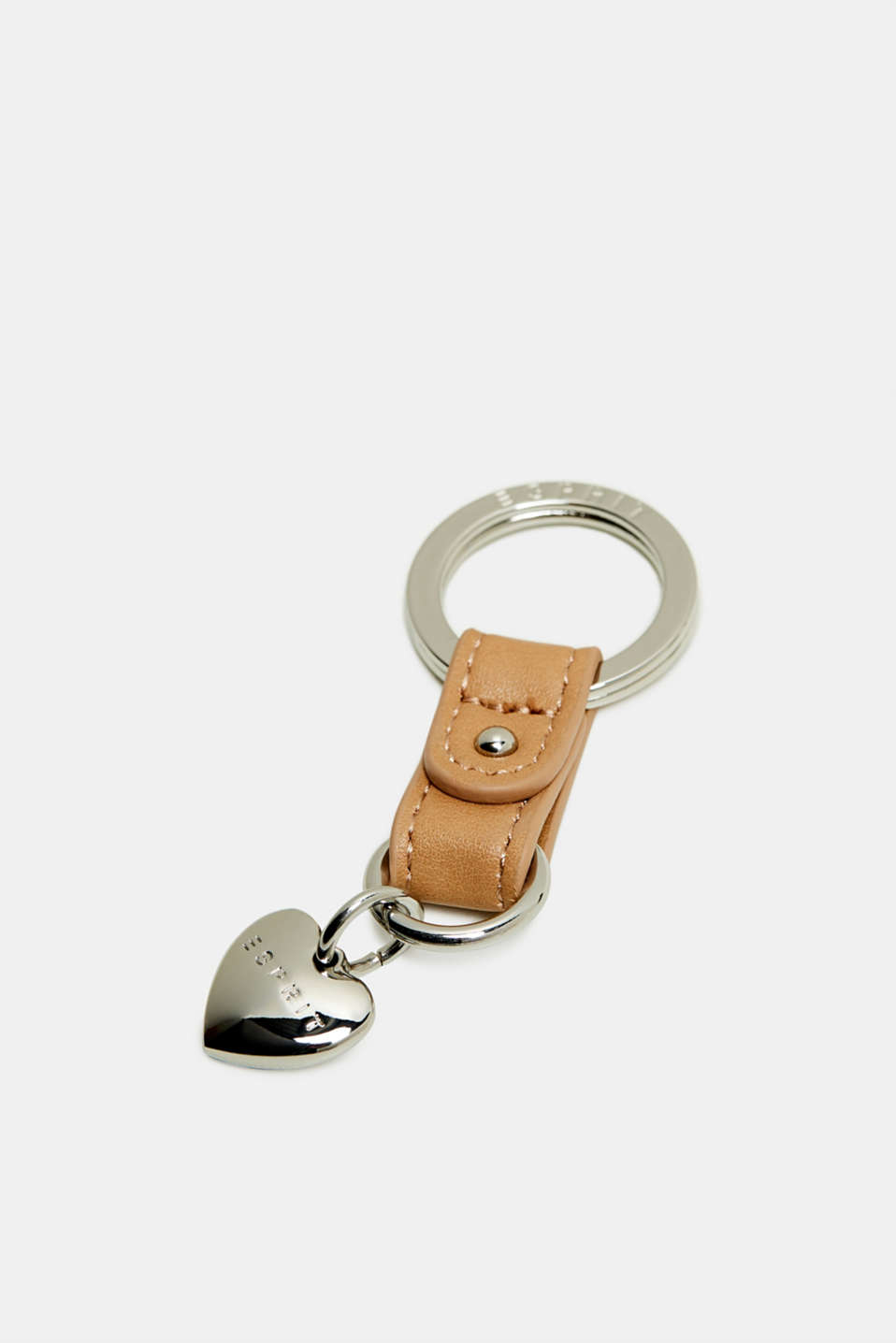Esprit - Key ring with a heart pendant