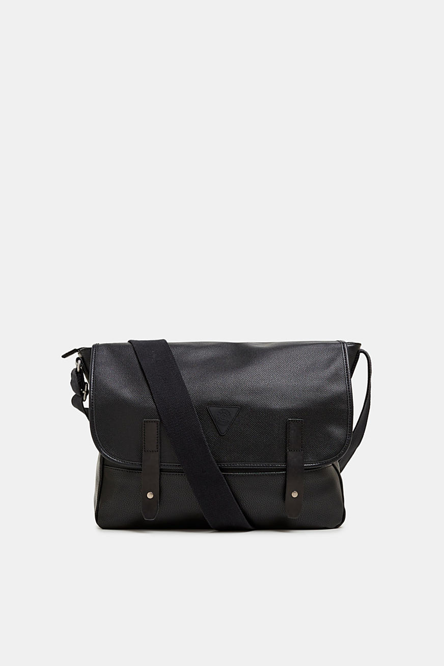 Messenger Bag in Leder-Optik