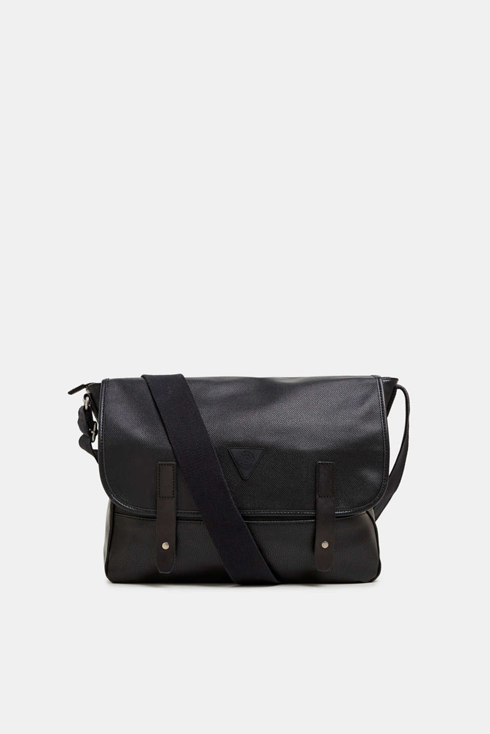 Esprit - Faux leather messenger bag