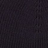 Hat with ribbed pattern, made of blended cotton, NAVY, swatch