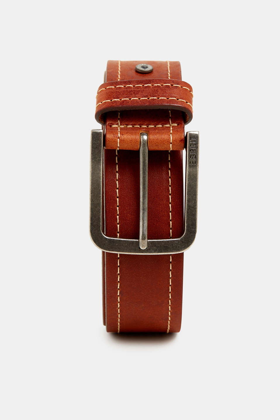 Belts leather, RUST BROWN, detail image number 0
