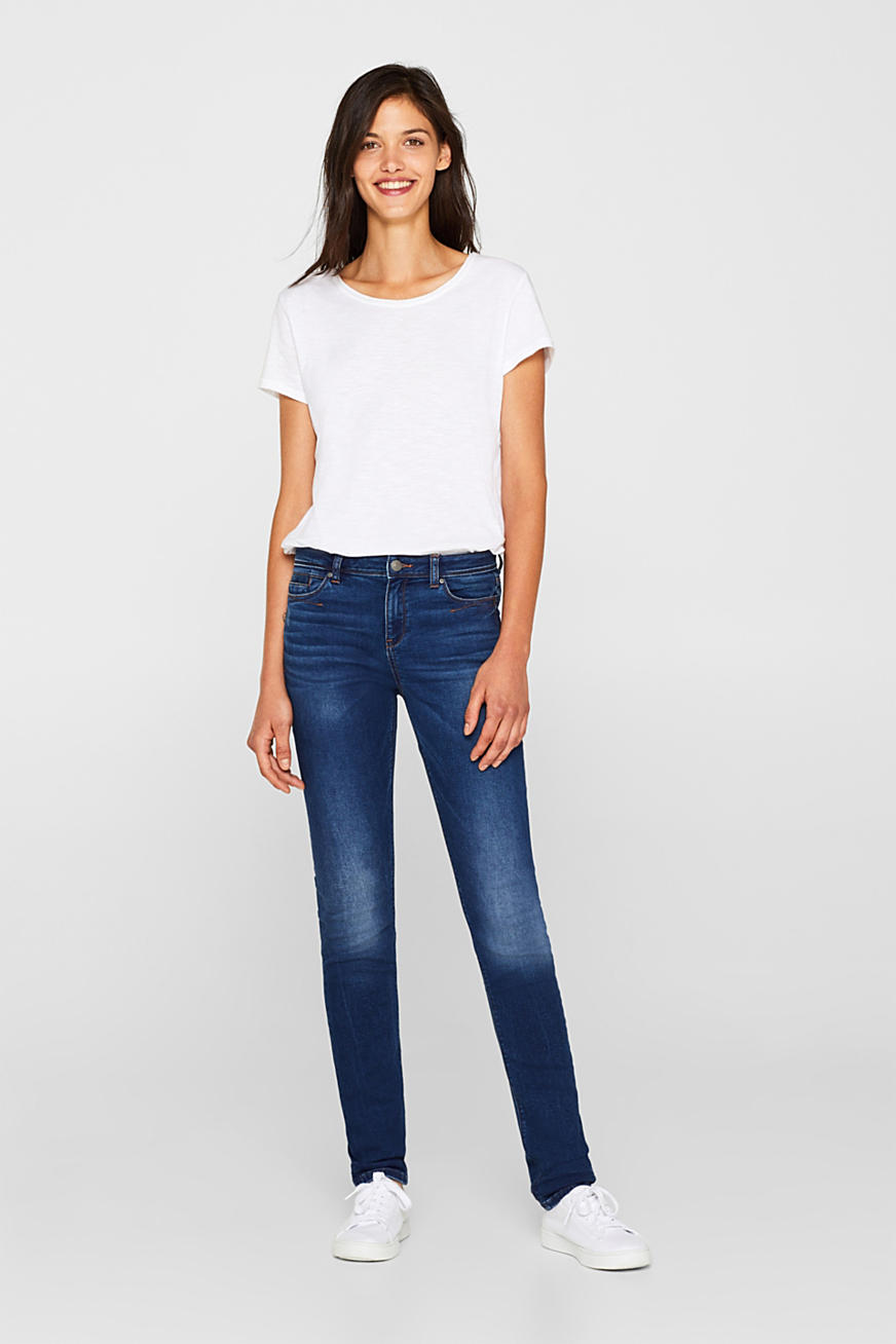 Jogger-Jeans mit Stretch