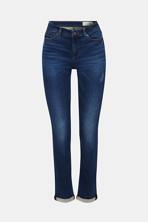 Tracksuit bottom jeans with stretch