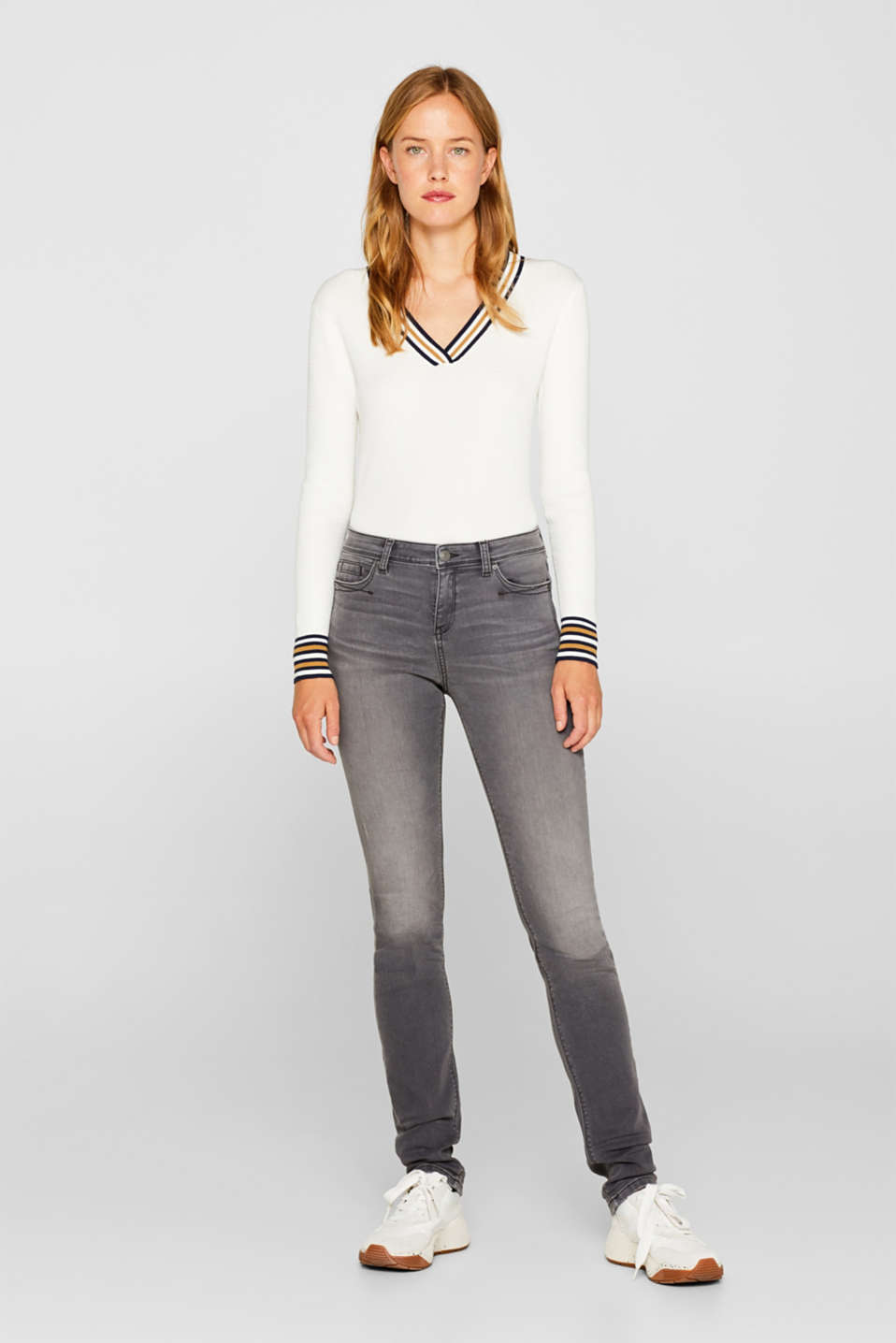 Esprit - Jogger jeans met superstretch
