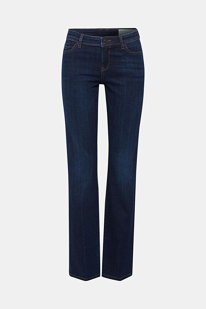 Stretch-Jeans mit Organic Cotton, BLUE DARK WASHED, detail image number 0