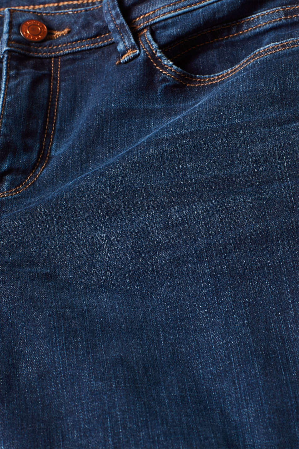 Stretch jeans, recycled, BLUE DARK WASH, detail image number 4