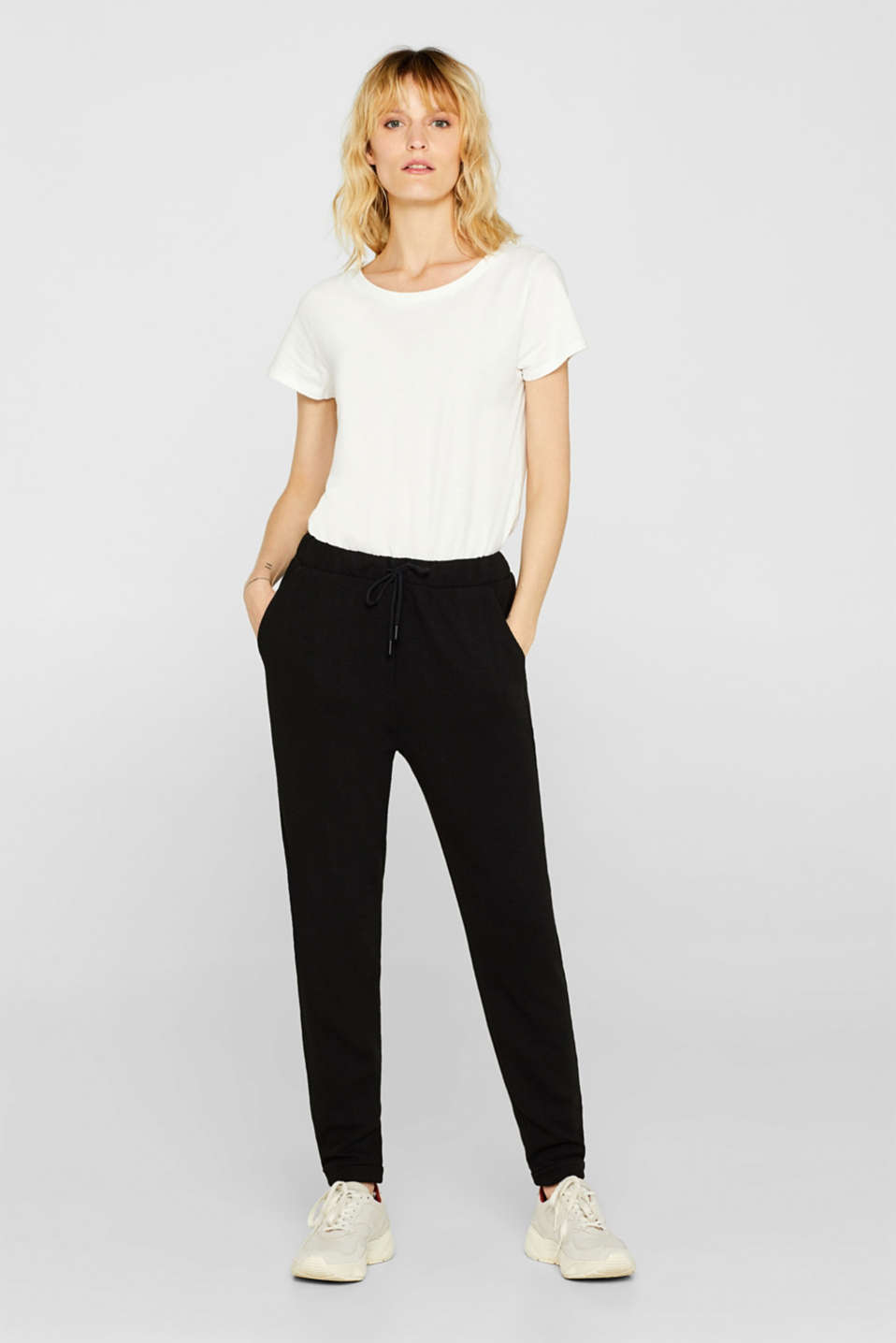 Esprit - PIPING Mix + Match Jogger-Pants