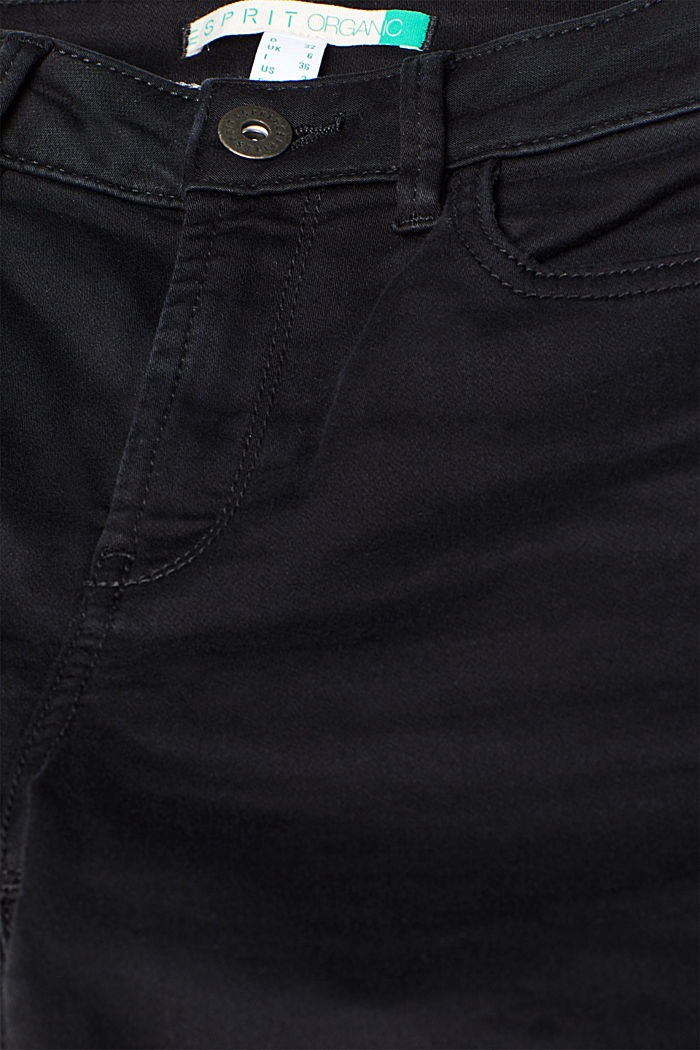 Super stretch jeans made of tracksuit fabric, BLACK, detail image number 4
