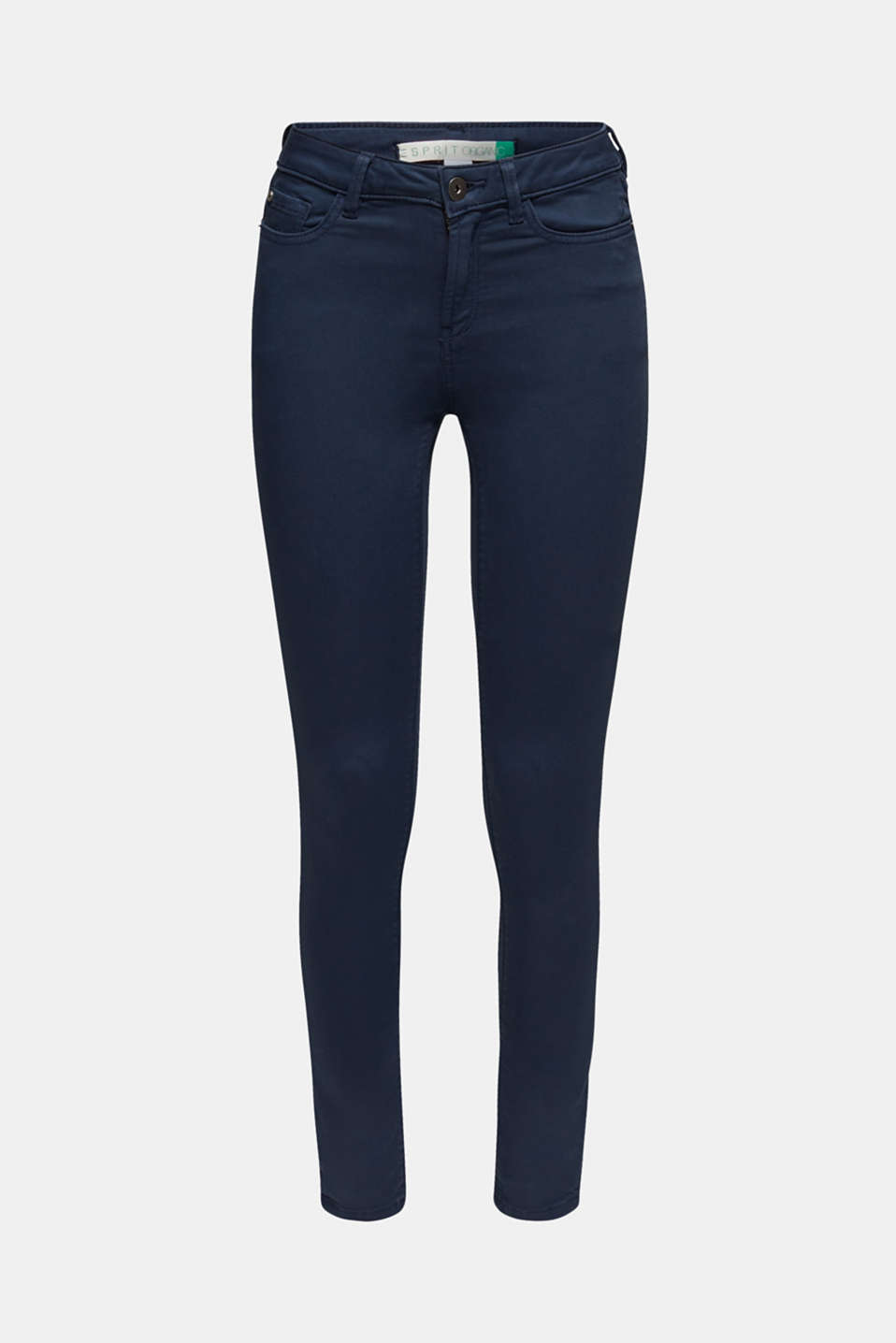 Super stretch jeans made of tracksuit fabric, NAVY, detail image number 7