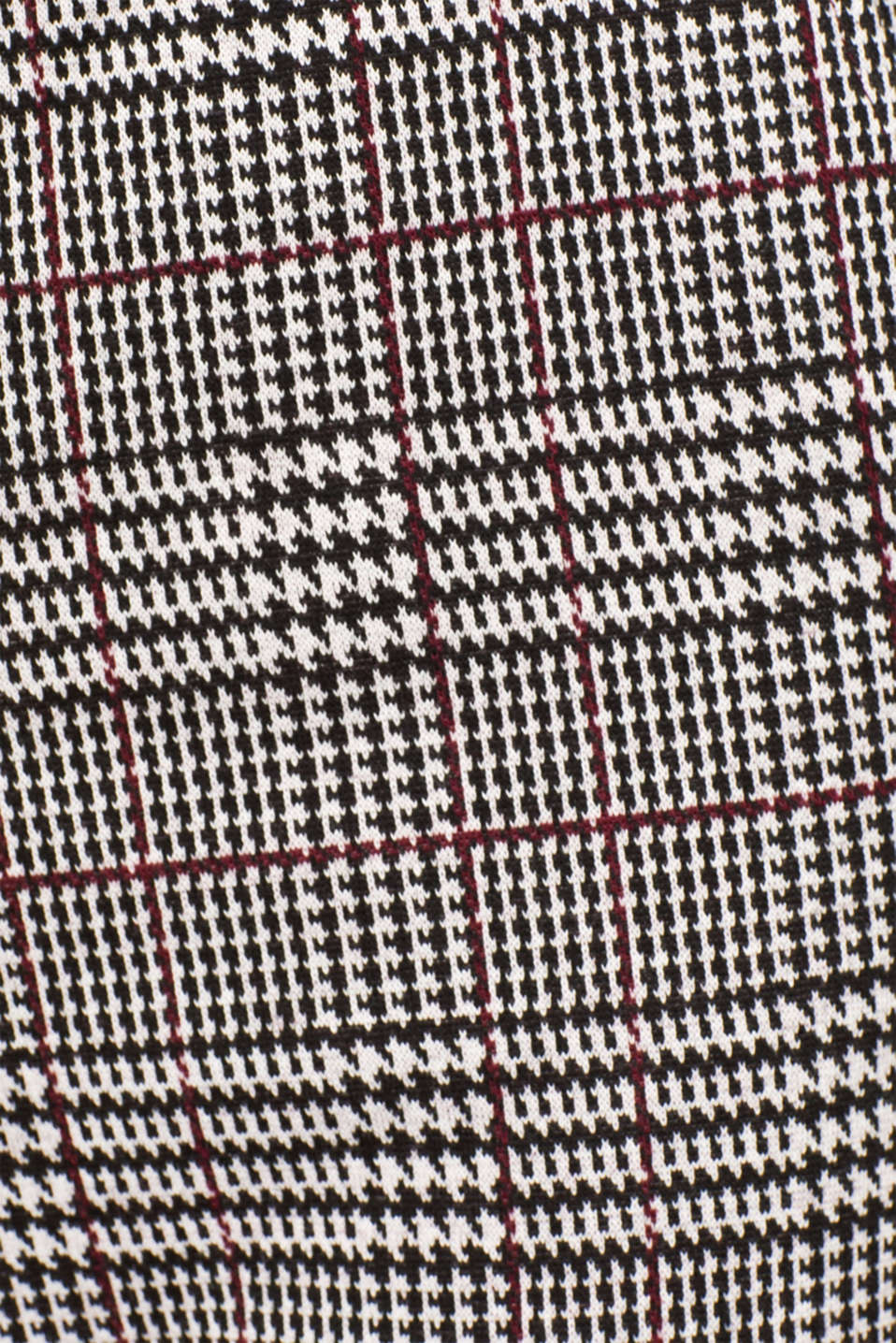 Pants knitted, GARNET RED, detail image number 4