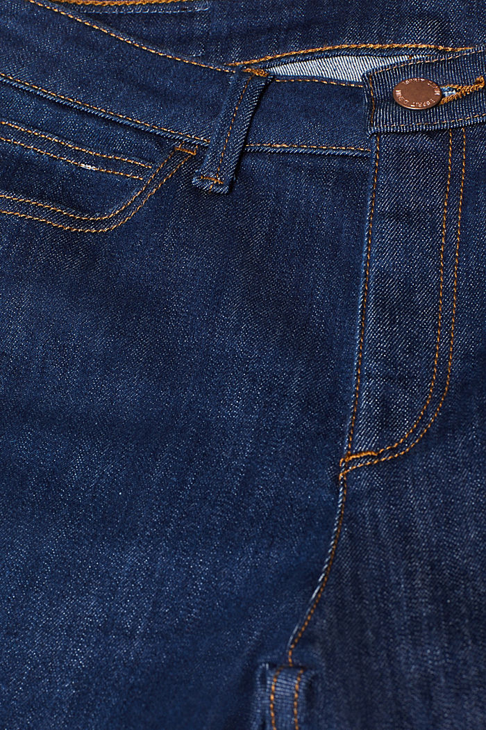 Stretch-Jeans mit Bootcut, BLUE MEDIUM WASHED, detail image number 4