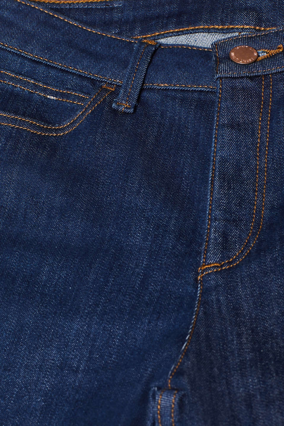Bootcut stretch jeans, BLUE MEDIUM WASH, detail image number 4