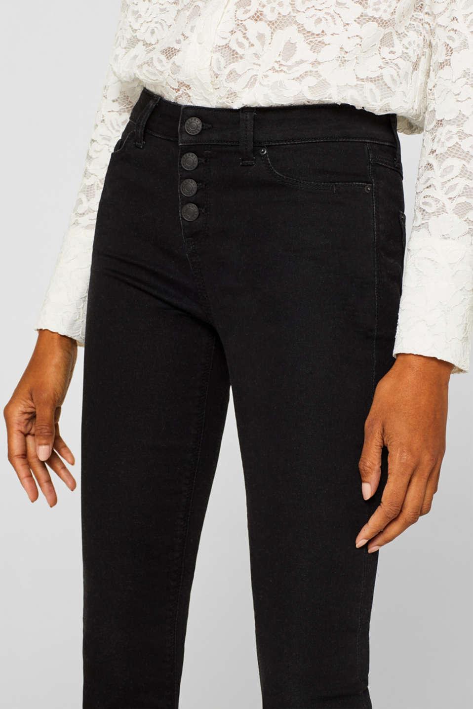 Pants denim, BLACK DARK WASH, detail image number 2
