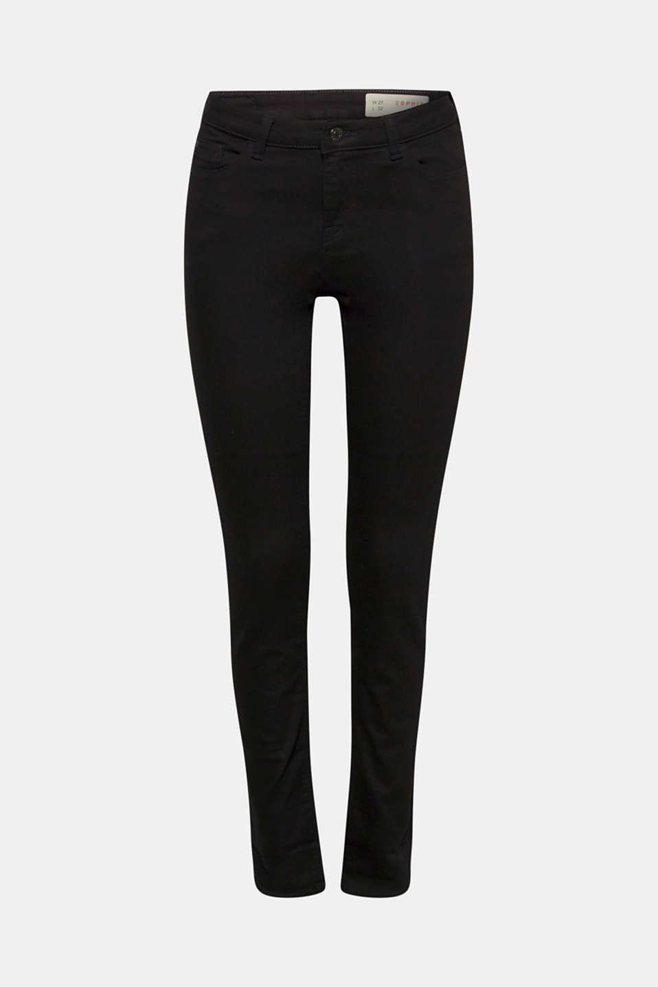Pants denim, BLACK, detail image number 6